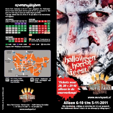 halloween 2011 in movie park germany. Black Bedroom Furniture Sets. Home Design Ideas